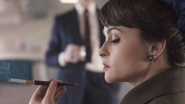 Primera imagen de Helena Bonham Carter en 'The Crown'