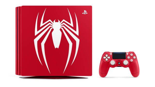 Así es la edición especial de PS4 con motivos de Spider-Man
