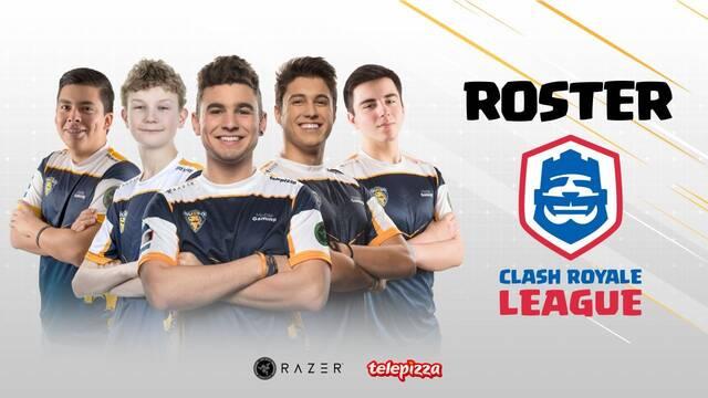 Team Queso presenta su nueva plantilla para la Clash Royale League