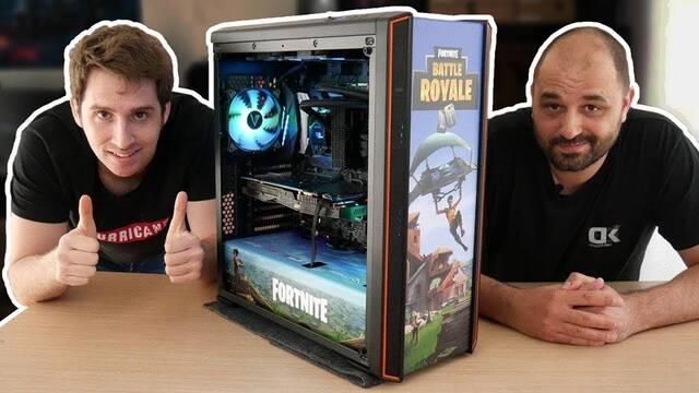 EL PC Modding de los viernes: ¡El ordenador para jugar de Fortnite!