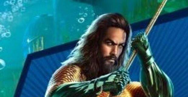 Jason Momoa aparece luciendo el traje anaranjado de Aquaman en una imagen