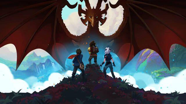 Así es El príncipe dragón, nueva serie de animación de Netflix