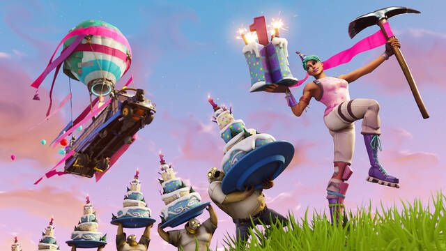 Fortnite celebrará su primer aniversario con el evento Fortnite1st