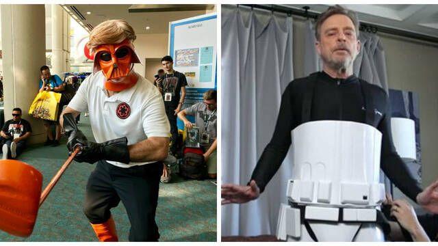 Mark Hamill se cuela en la Comic-Con de San Diego disfrazado