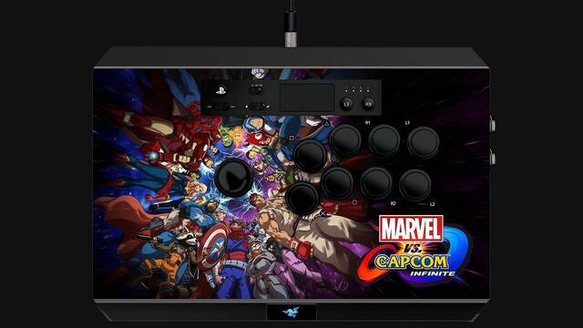 Razer presenta el arcade stick Panthera Marvel VS Capcom Infinite