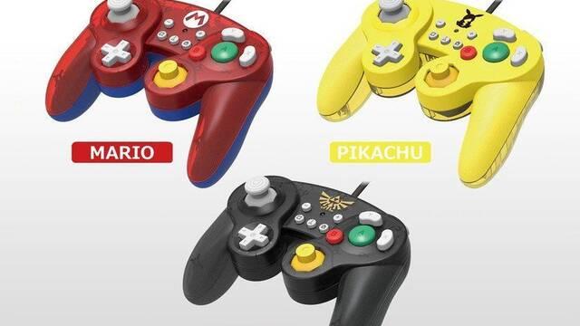 Hori lanzará tres mandos de Game Cube para Nintendo Switch en octubre