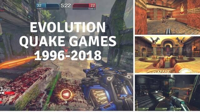 Así ha sido la evolución gráfica de la saga Quake