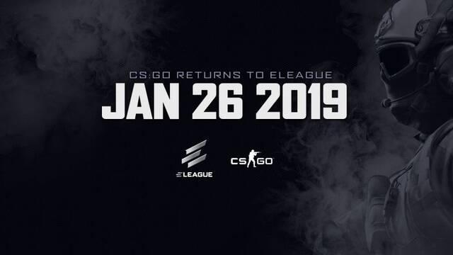 ELEAGUE anuncia un nuevo torneo de CS:GO para el 2019
