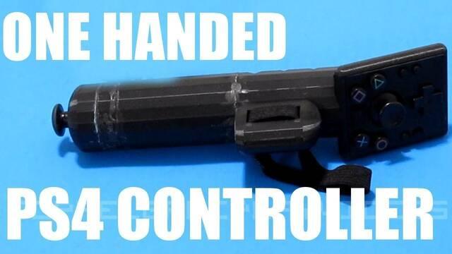 Crean un mando de PS4 que puede usarse con una sola mano