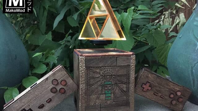 La increíble Raspberry Pi de Zelda con una trifuerza… ¡que flota en el aire!