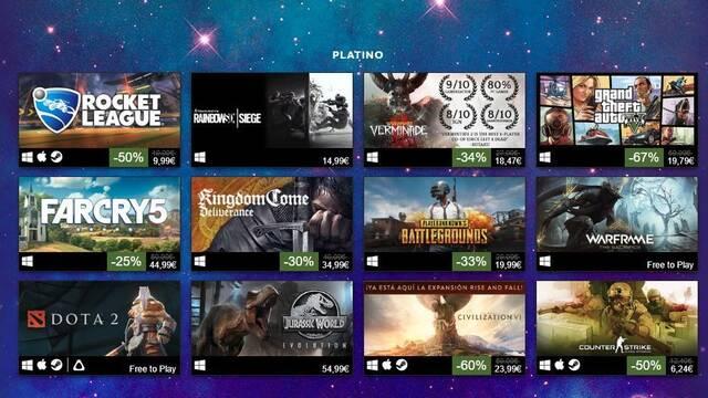 CS:GO, DOTA 2 y PUBG se cuelan entre los más vendidos de Steam en 2018