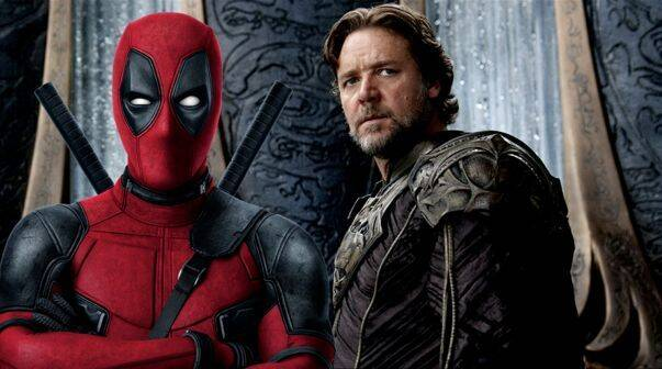 Russell Crowe se sintió insultado por un tuit de Deadpool 2