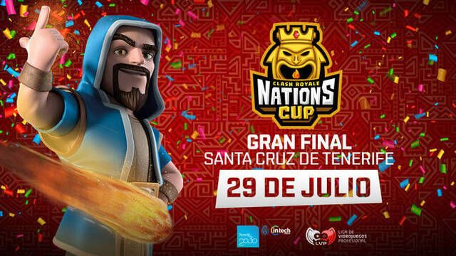 Tenerife acogerá la gran final de la CR Nations Cup, el Mundial de Clash Royale