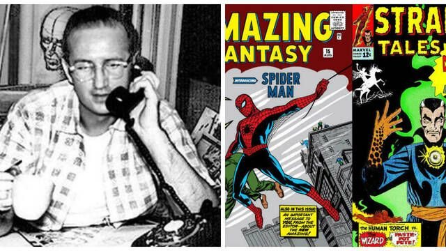 Fallece Steve Ditko, co-creador de Spiderman y Doctor Strange