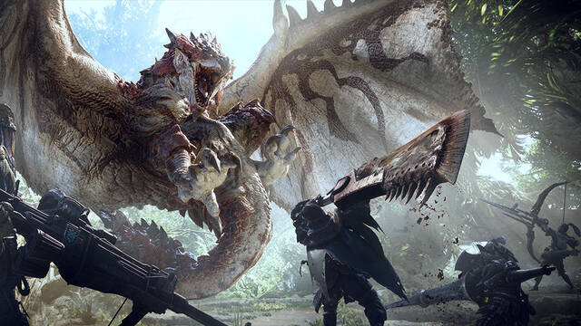 Filtrados los requisitos de Monster Hunter World para PC