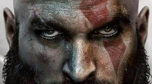 Se hace viral un póster que imagina a Jason Momoa como Kratos de God of War