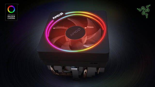 Razer Choma iluminará el ventilador AMD Wraith Prism