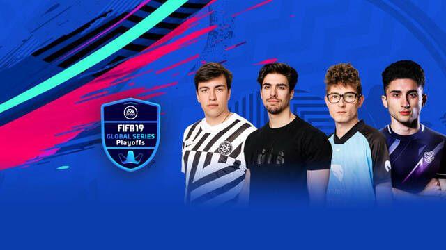 Cuatro españoles jugarán el fin de semana los Playoffs del FIFA 19 Global Series