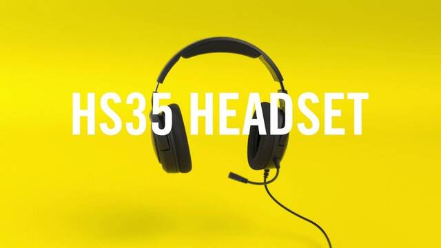 Corsair presenta sus auriculares HS35