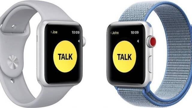 Apple desactiva 'el Walkie' de los Apple Watch por una vulnerabilidad