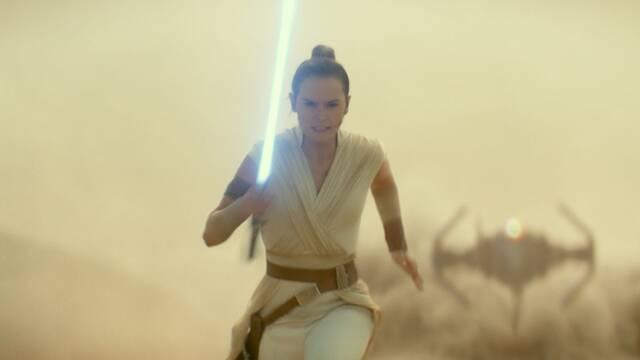 The Rise of Skywalker: Daisy Ridley explica el cambio en las luchas con sables de luz