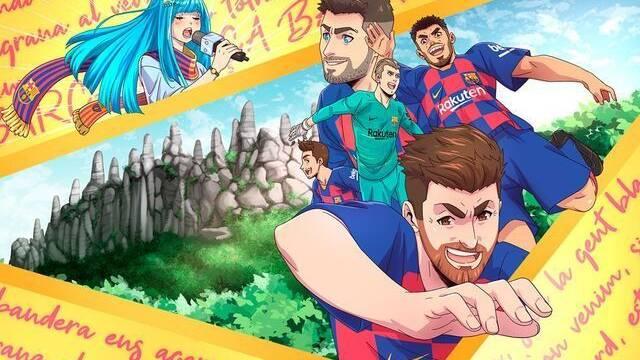 Así es el concurso de karaoke del FC Barcelona para japoneses