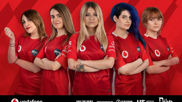 Vodafone Giants anuncia su equipo femenino de League of Legends