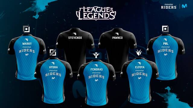 Movistar Riders presenta a su nuevo equipo cantera de League of Legends