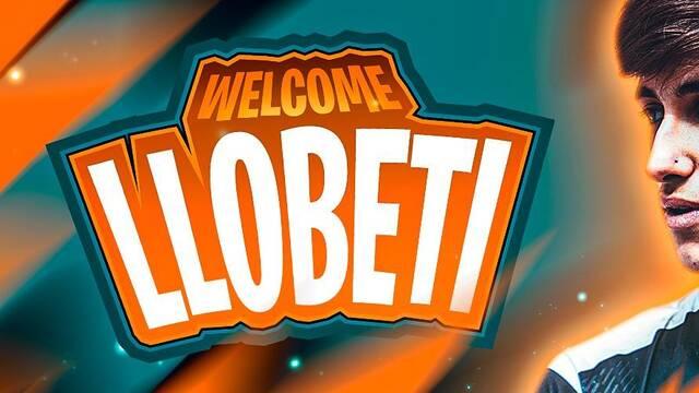 Llobeti, nuevo jugador de Fortnite de Team Heretics