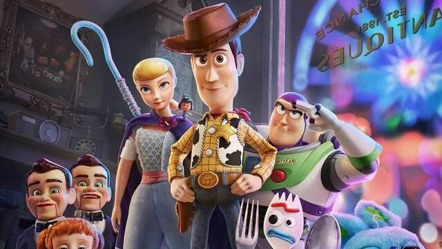Toy Story 4 sigue en primera posición en la taquilla de Estados Unidos