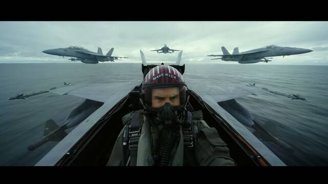 Top Gun Maverick: Tom Cruise protagoniza el espectacular primer tráiler