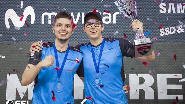 Gamepolis: WILLIAMS Esports vence en la ESL Racing Series MAPFRE T2