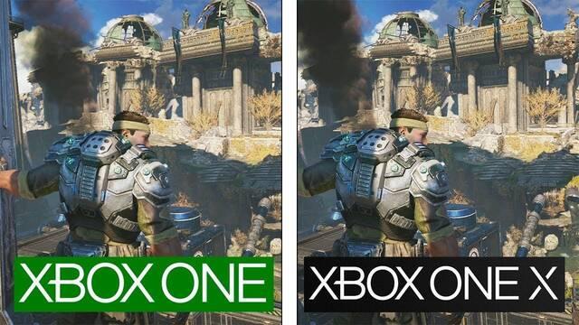 Comparativa gráfica: Beta de Gears 5 en Xbox One y Xbox One X
