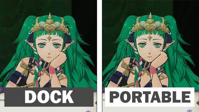 Comparativa gráfica: Fire Emblem: Three Houses en modo Dock y portátil en Nintendo Switch