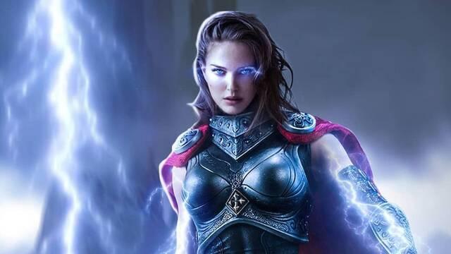 Así sería Natalie Portman en su papel como Thor