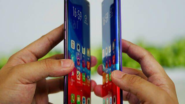 "La marca china Oppo presenta su pantalla sin bordes ""waterfall"" para móviles"