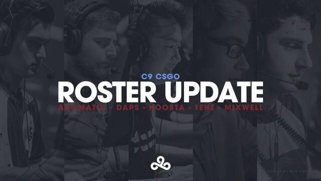 Cloud9 ficha al español Mixwell para su equipo de CS:GO