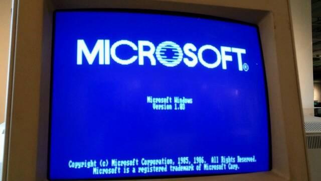 Microsoft está adelantando algo relacionado con Windows 1.0