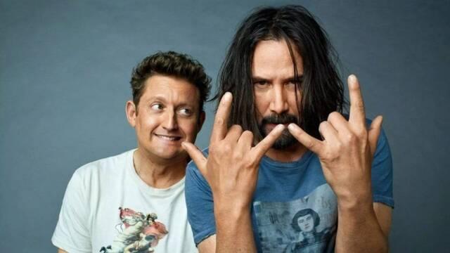 Bill y Ted 3: Llegan las primeras imágenes del rodaje con Keanu Reeves
