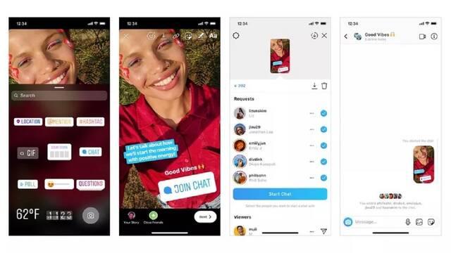 Instagram añade un sticker para crear grupos de chat con tus seguidores
