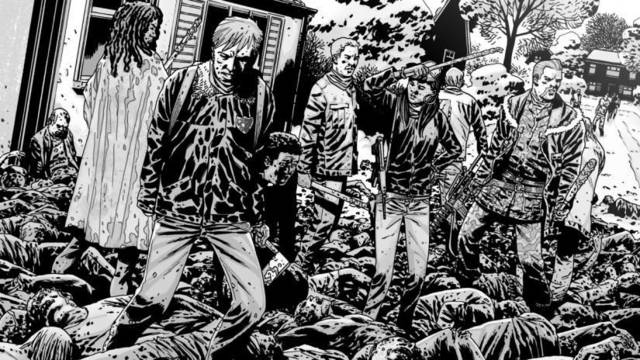 Desvelan cuál iba a ser el final original del cómic de The Walking Dead