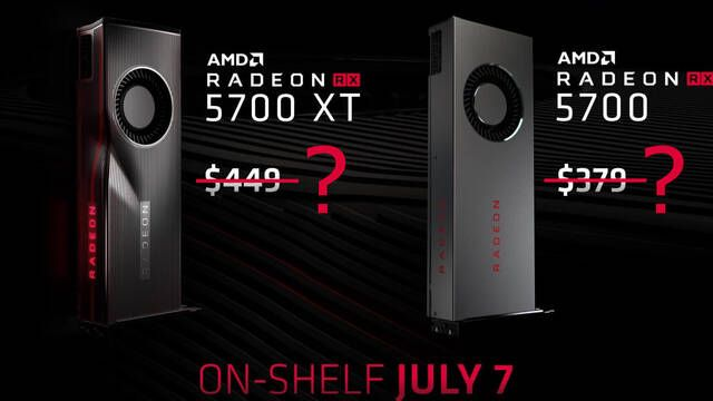 AMD bajará el precio de las Radeon RX 5700 para competir con las Geforce RTX SUPER