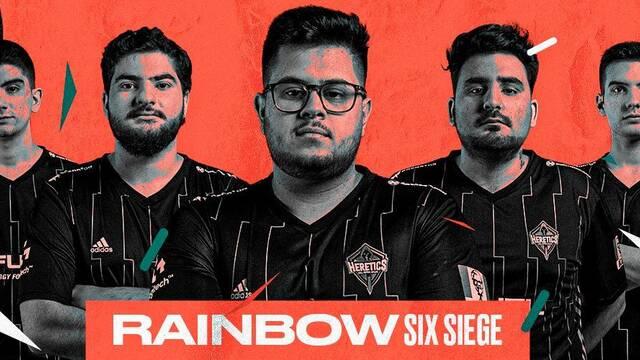 Heretics entra en Rainbow Six comprando la plaza de Dragons en la R6 Spain National