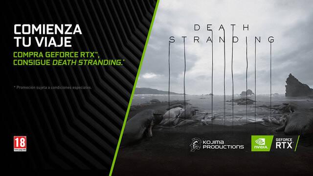 NVIDIA regalará Death Stranding con la compra de sus gráficas GeForce RTX