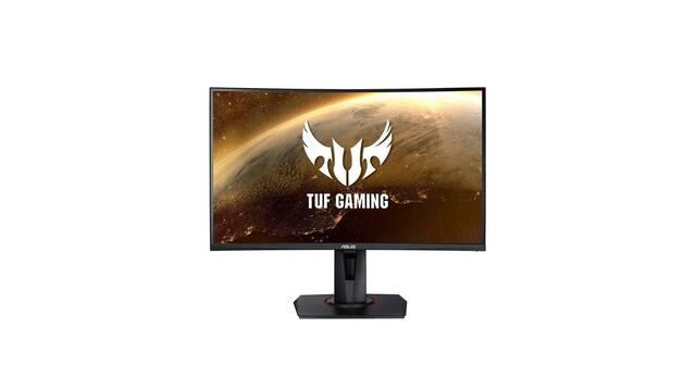 ASUS presenta su monitor curvo TUF Gaming VG24VQ con 165 Hz