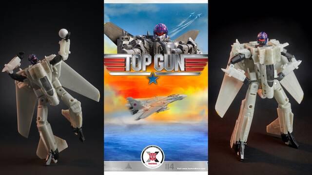 ¿Un avión robot? Así es el juguete que une Transformers y Top Gun