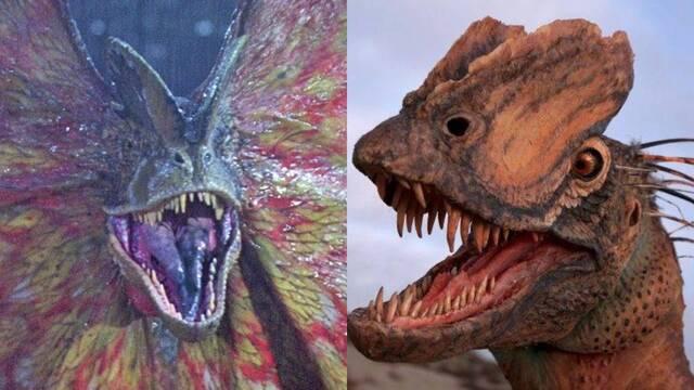 Un nuevo estudio sugiere que el Dilophosaurus era muy distinto al mostrado en Jurassic Park