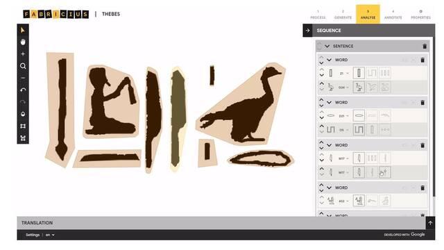 Así es el innovador traductor de jeroglíficos de Google con inteligencia artificial