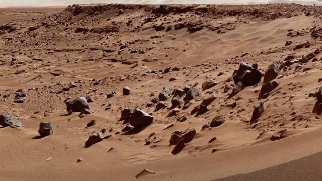 Así son las impresionantes imágenes de Marte en 4K