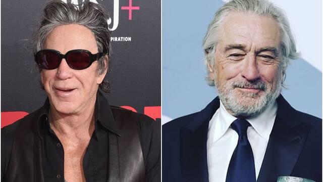 Mickey Rourke carga contra Robert De Niro: 'Cuando te vea te avergonzaré'